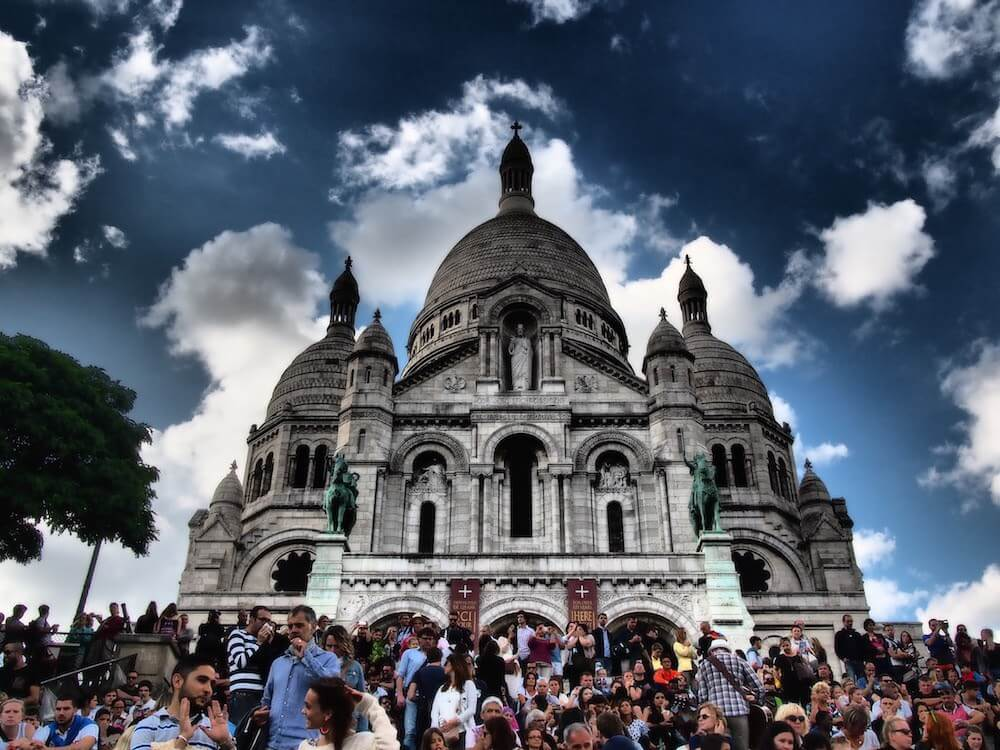 visiting the sacre couer
