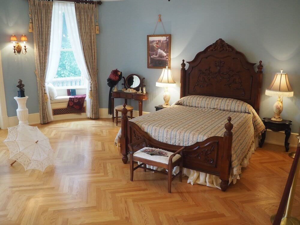 Bedrooms of Boldt Castle