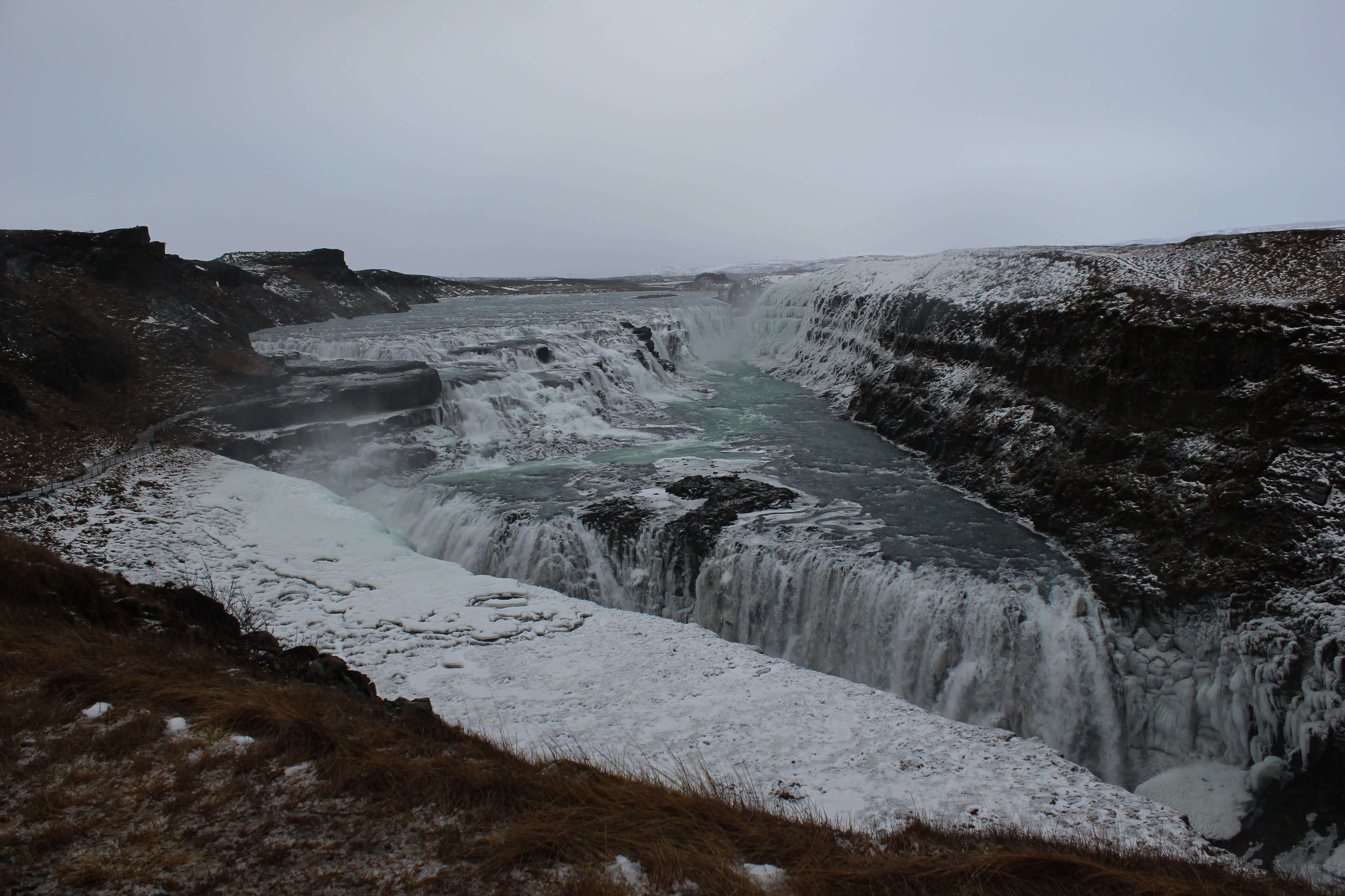 Iceland road trip January