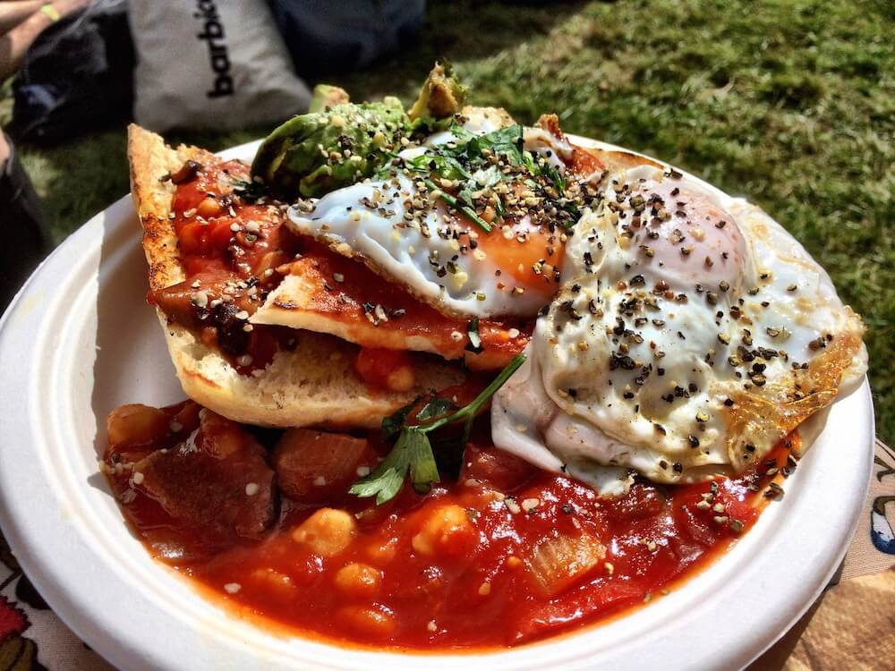 Bestival food and drink