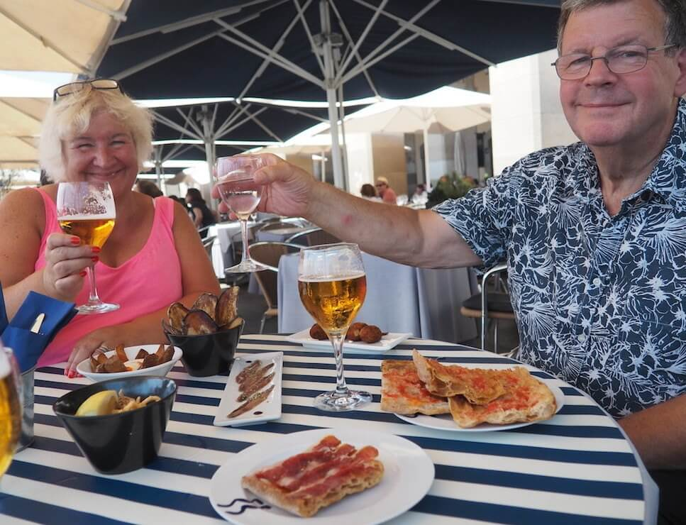 Barcelona with your parents