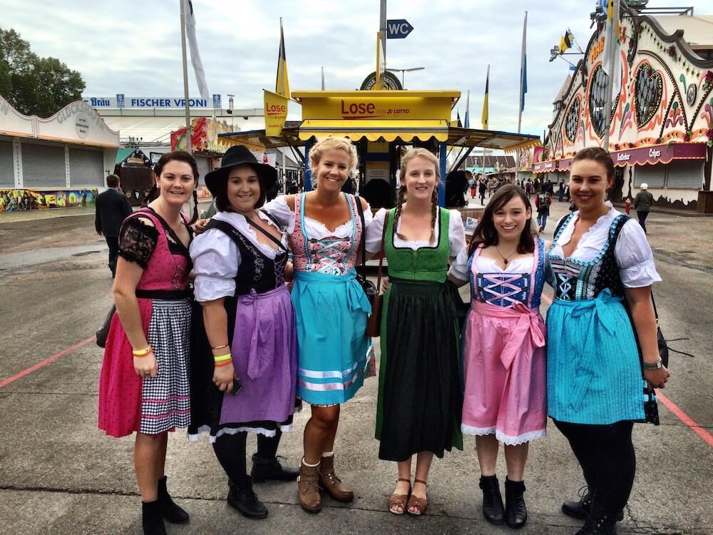 Oktoberfest dress up fun