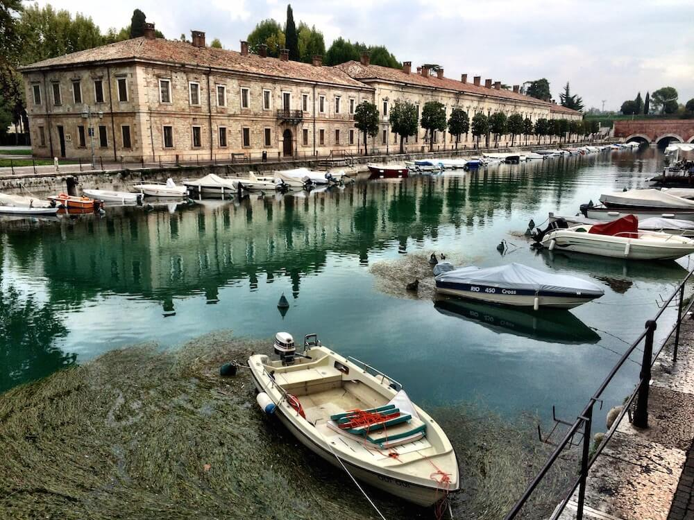 Peschiera in Lake Garda