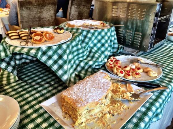 Cake at Hotel Germano