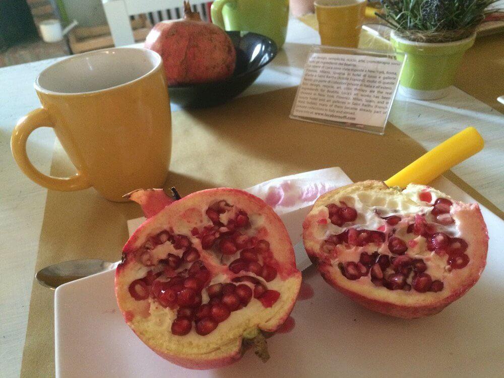 Pomegranates at Beatilla