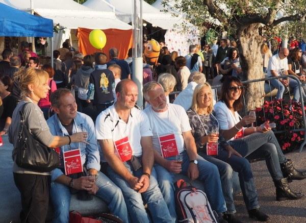 Bardolino Wine Festival fun