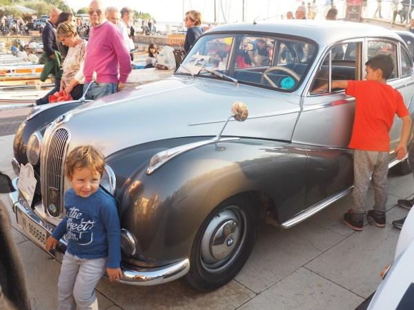 Bardolino Wine Festival car show