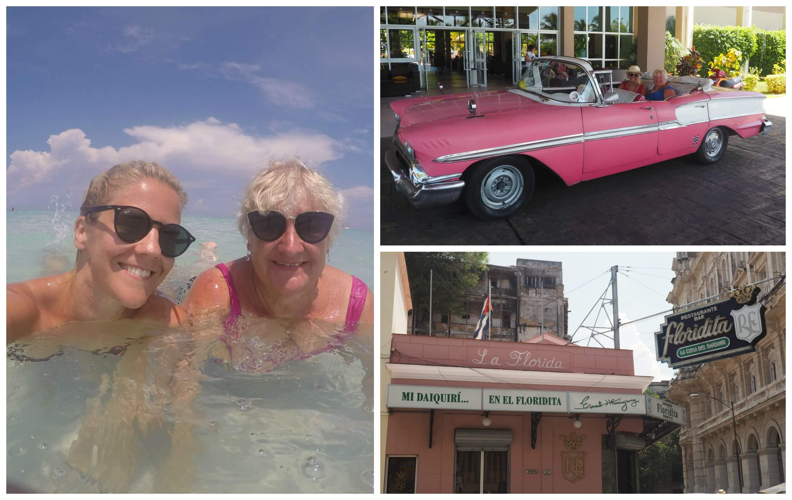 Me and Mum in Cuba