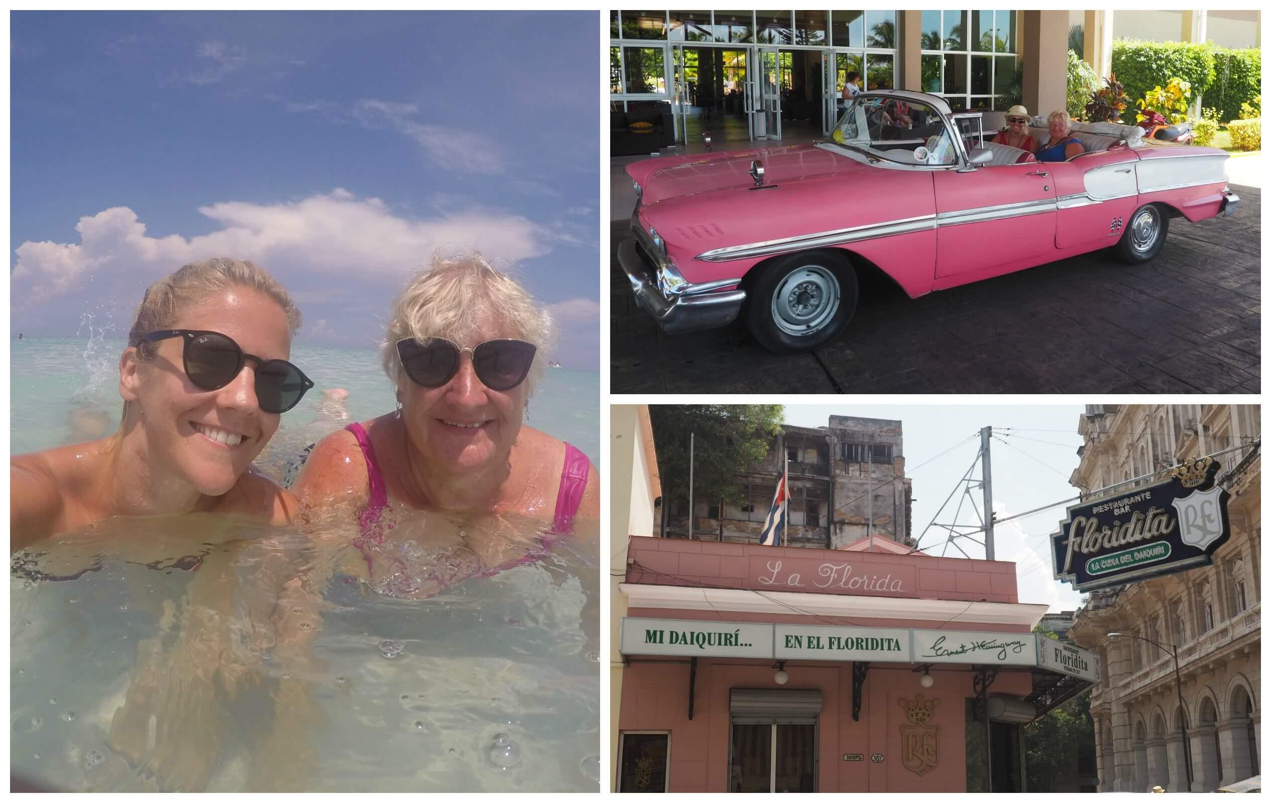 Me and Mum in Cuba