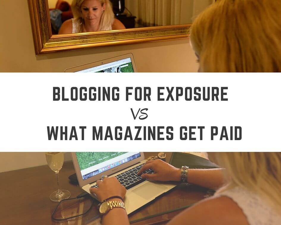 Getting paid for travel blogging