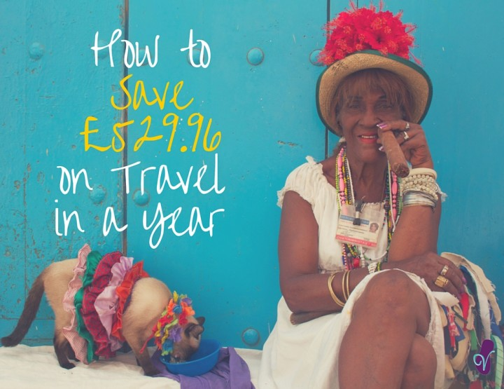 How to Save £529.96 on Travel in a Year