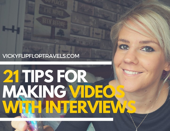 21 Tips for Making YouTube Videos With Interviews