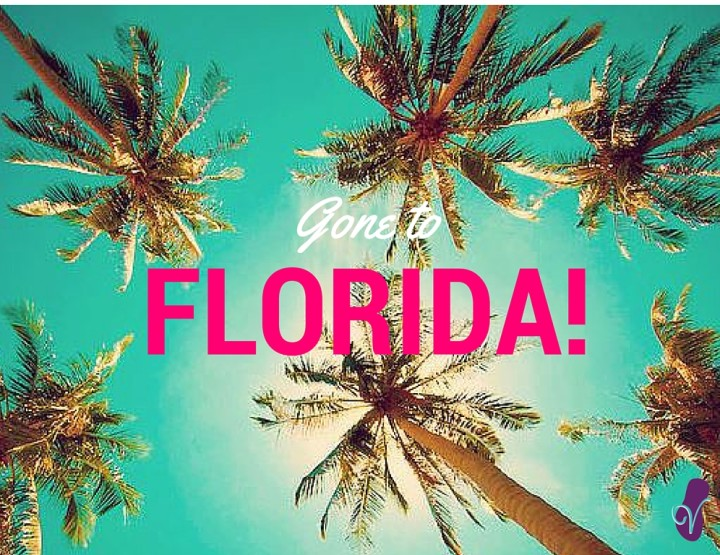 Off to Florida Today! Woohoo!
