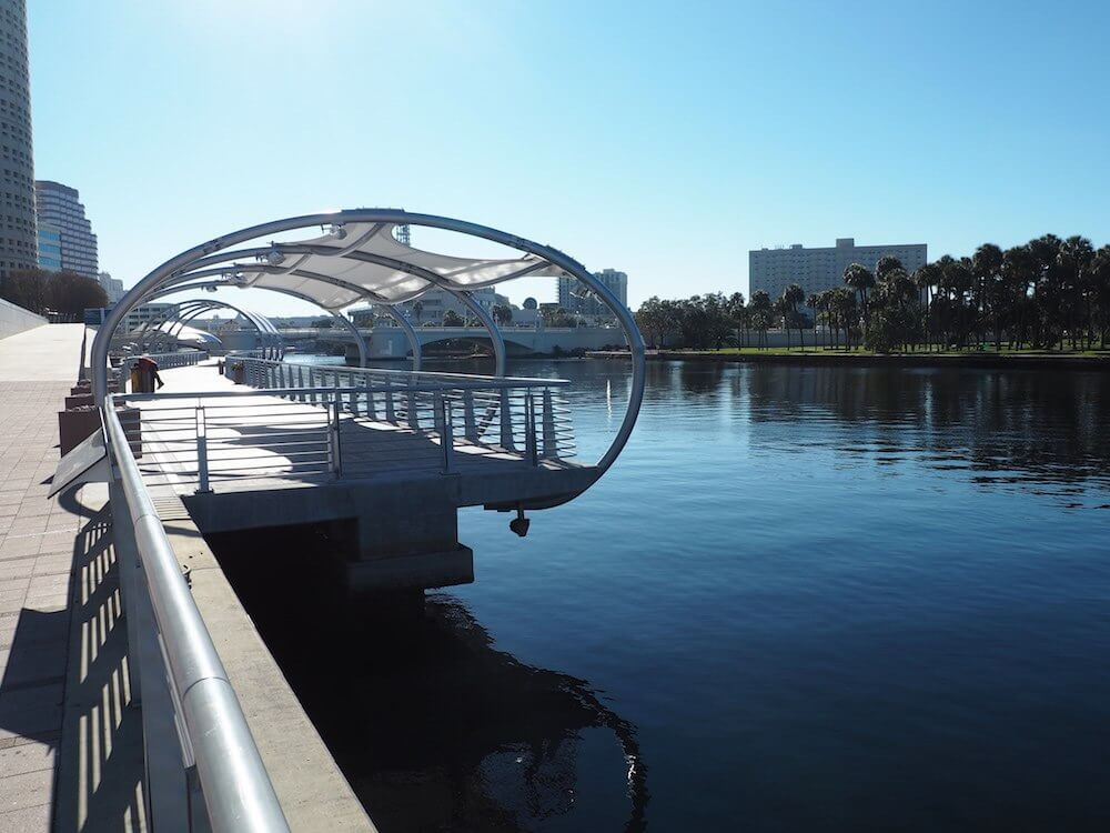 Exploring Tampa for the day