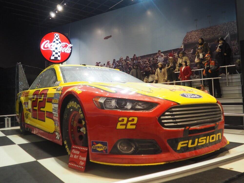 Winning car at Daytona