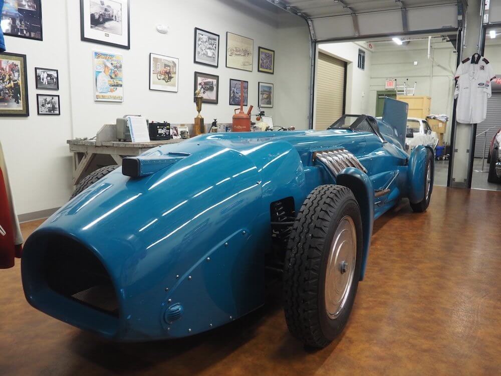 Daytona Archives Bluebird car