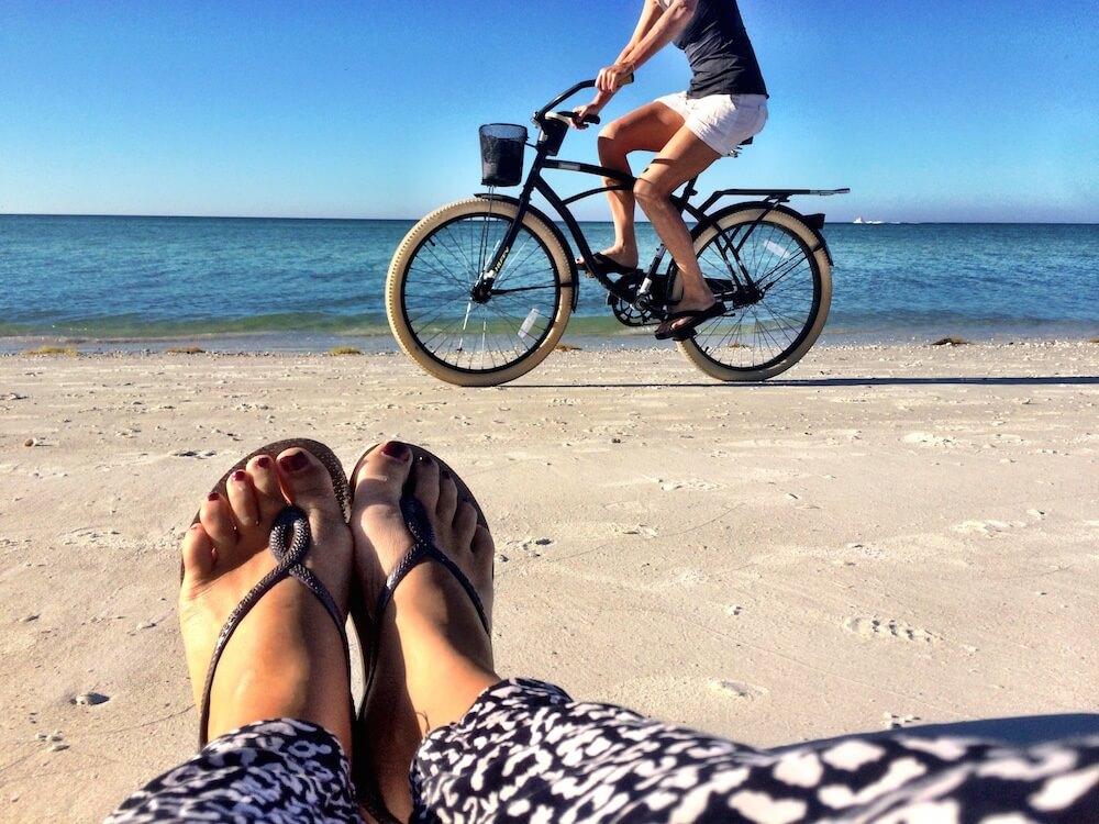 Exploring Sarasota and its beach