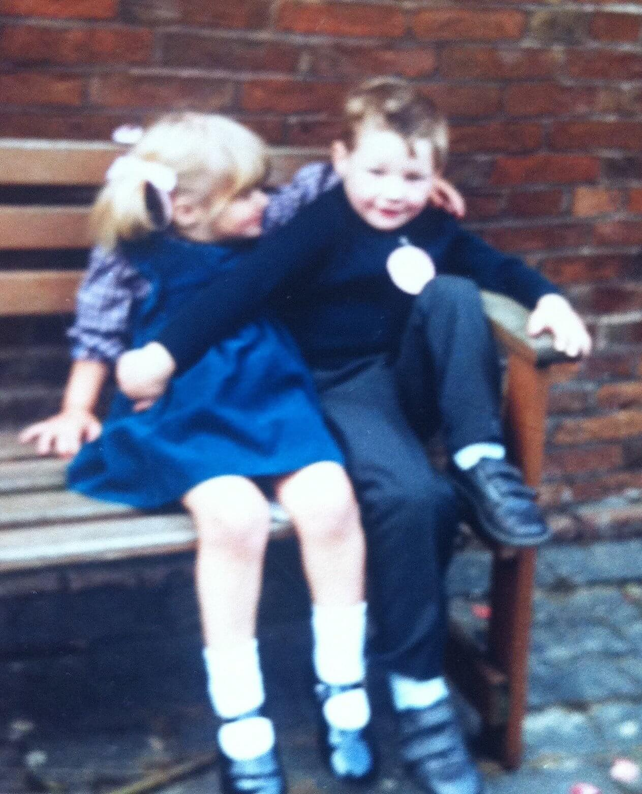 Matt and me at 4