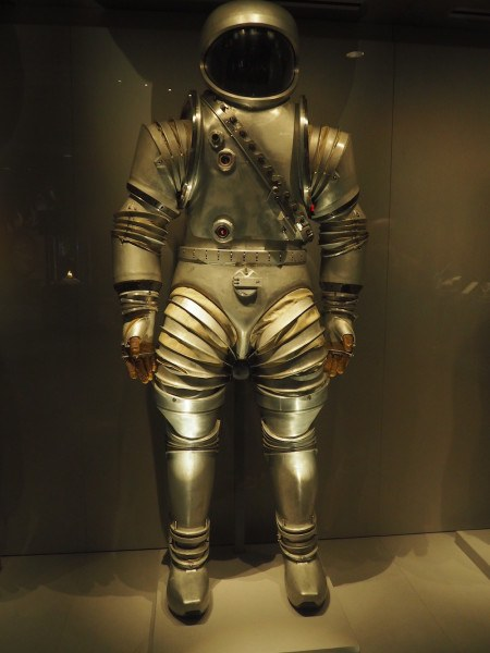 Spaceman at Kennedy Space Centre