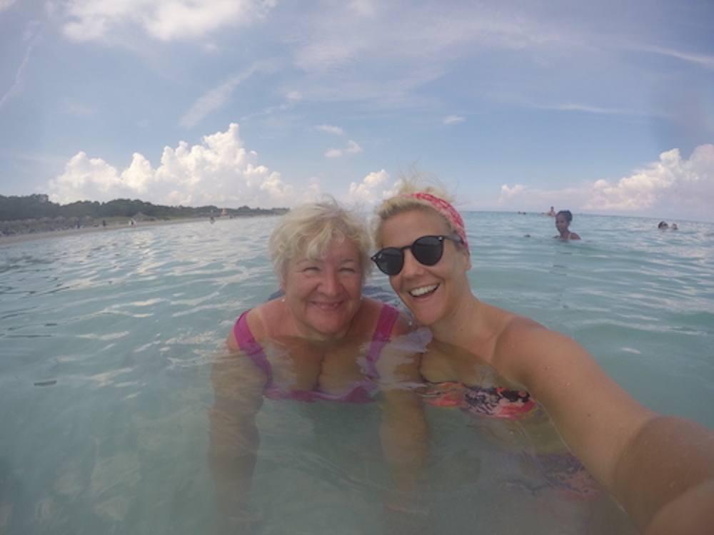Cuba with mum