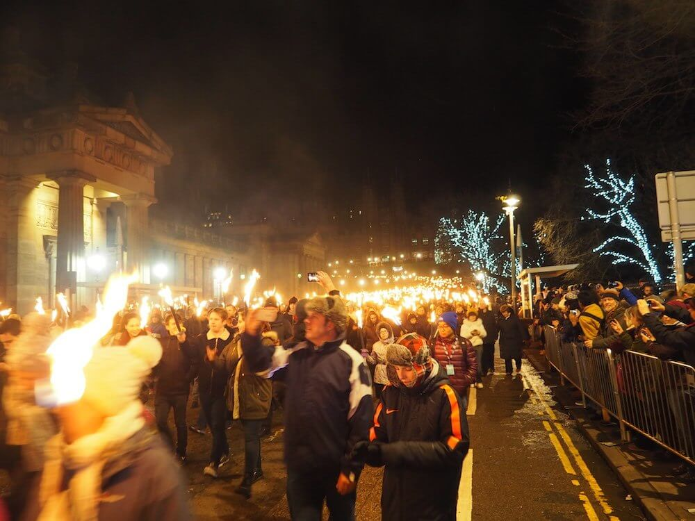 Torchlight Procession Hogmanay