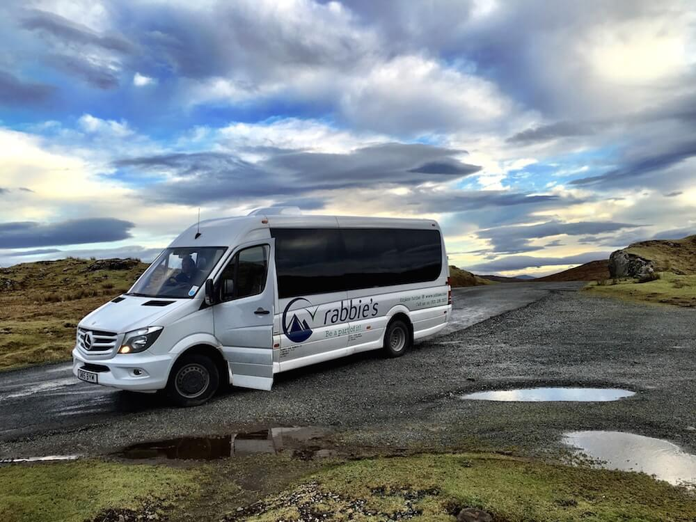 Rabbies Tour Bus Isle of Skye