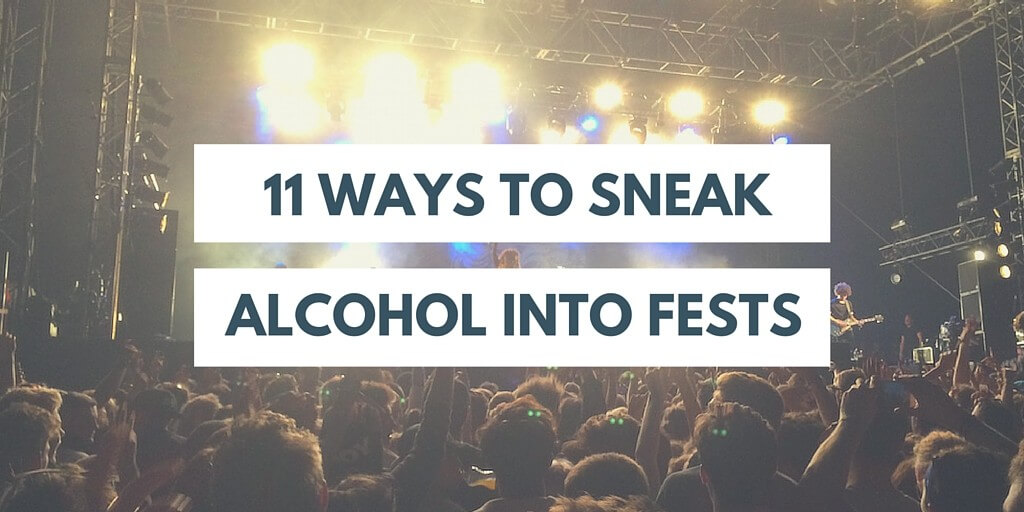 alcohol in festivals
