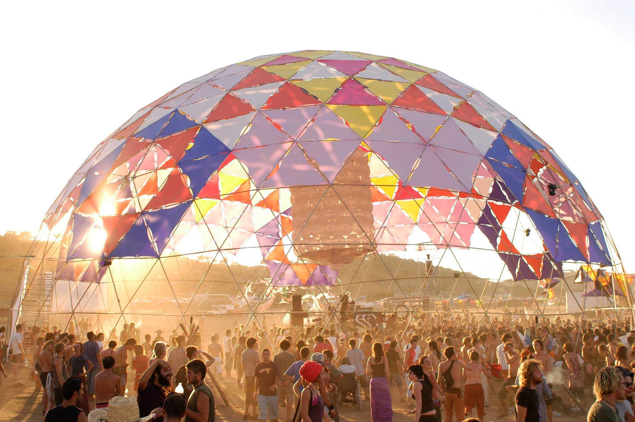 Festivals like Burning Man but different