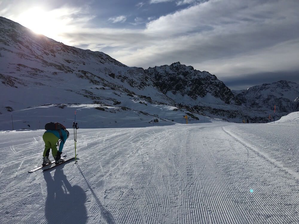 Skiing in Champoluc