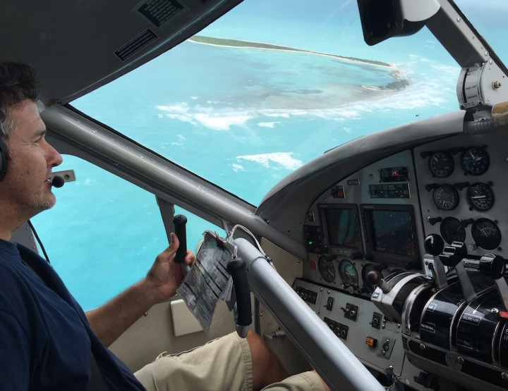 Co-Piloting a Seaplane from Dry Tortugas National Park to Key West