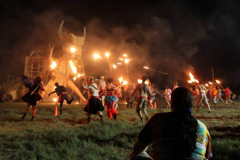 Burning Man Festivals around the world