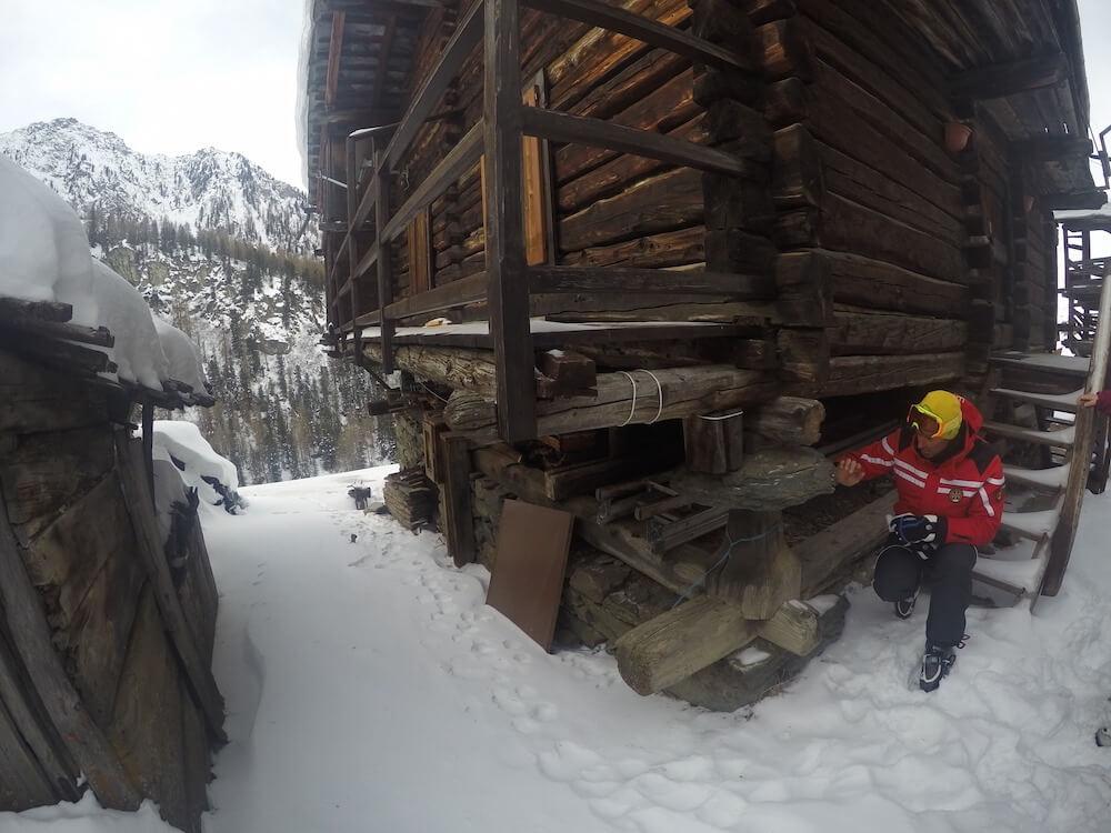 Champoluc mountain village