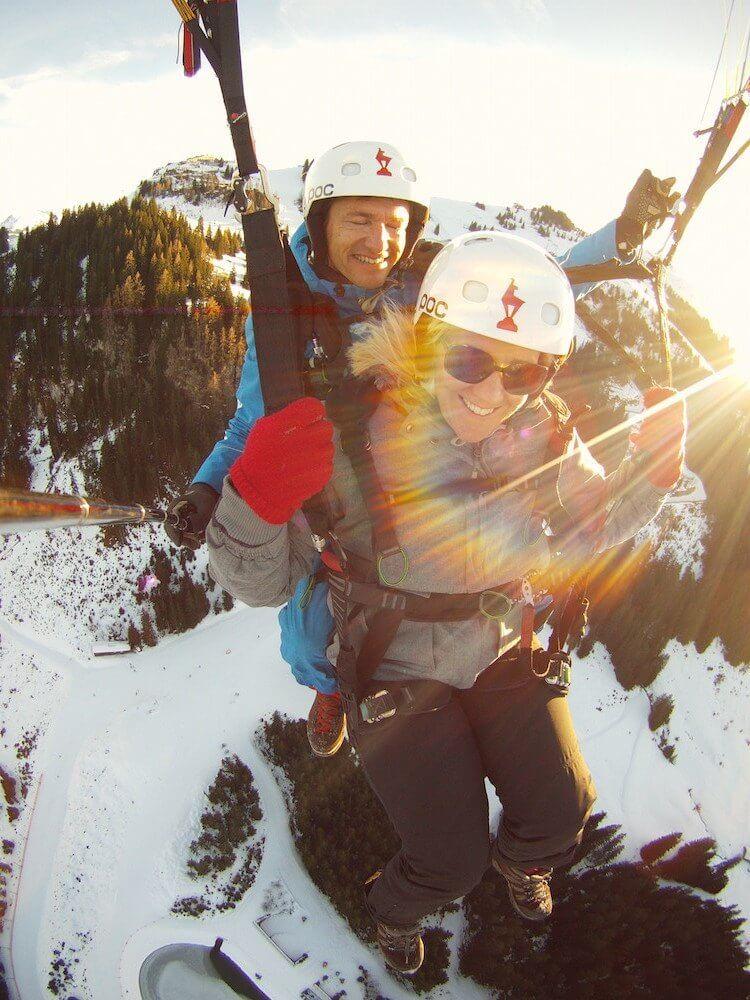 Kitzbuhel paragliding