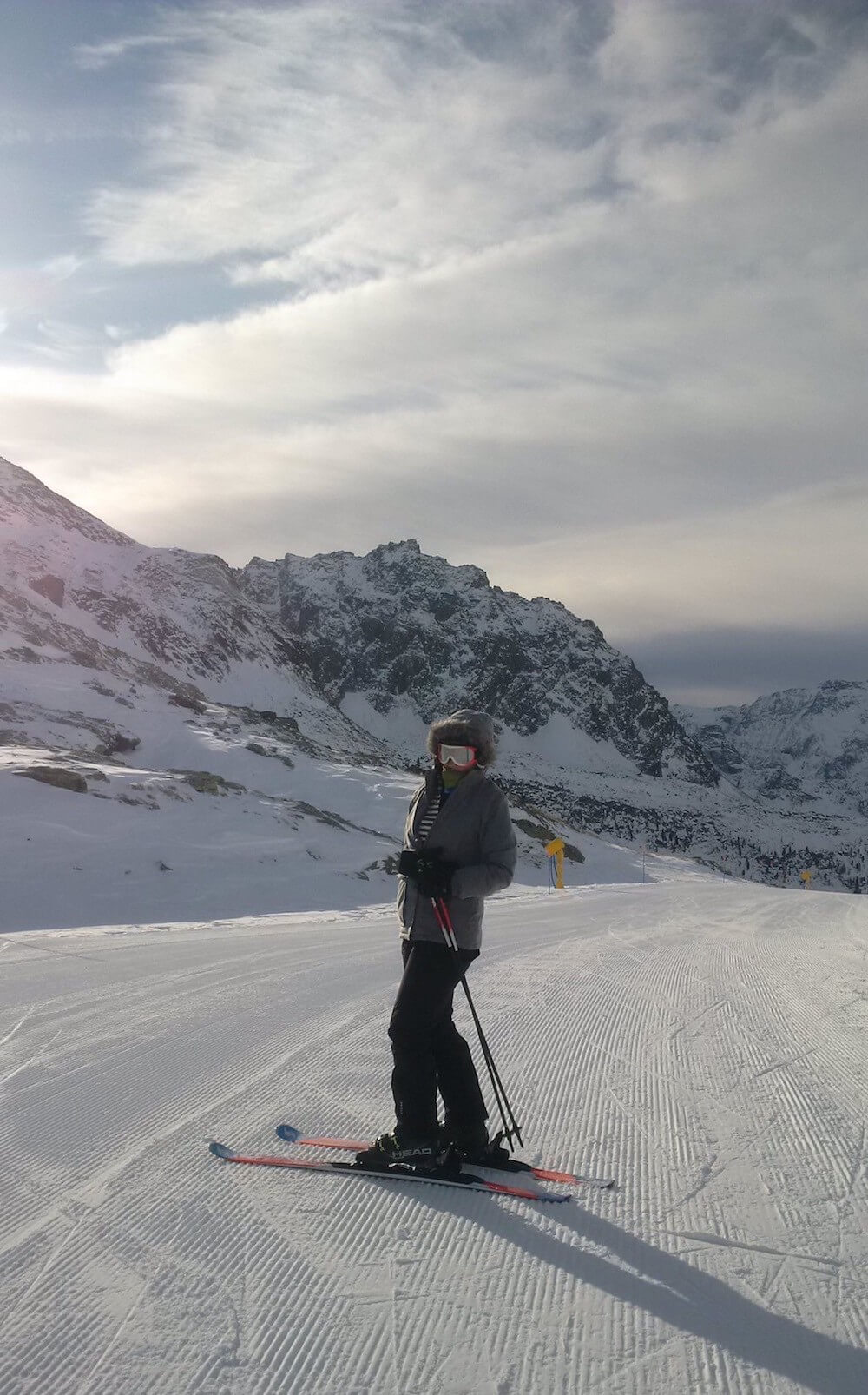 Me skiing in Champoluc