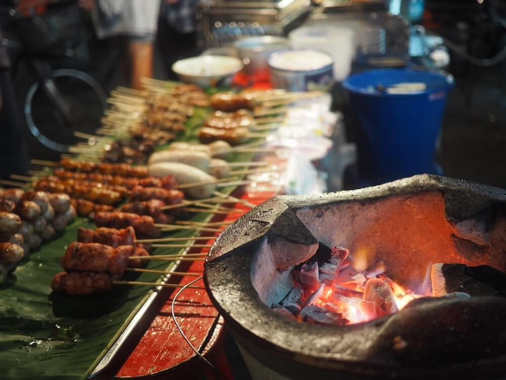 Street food tour chang mai