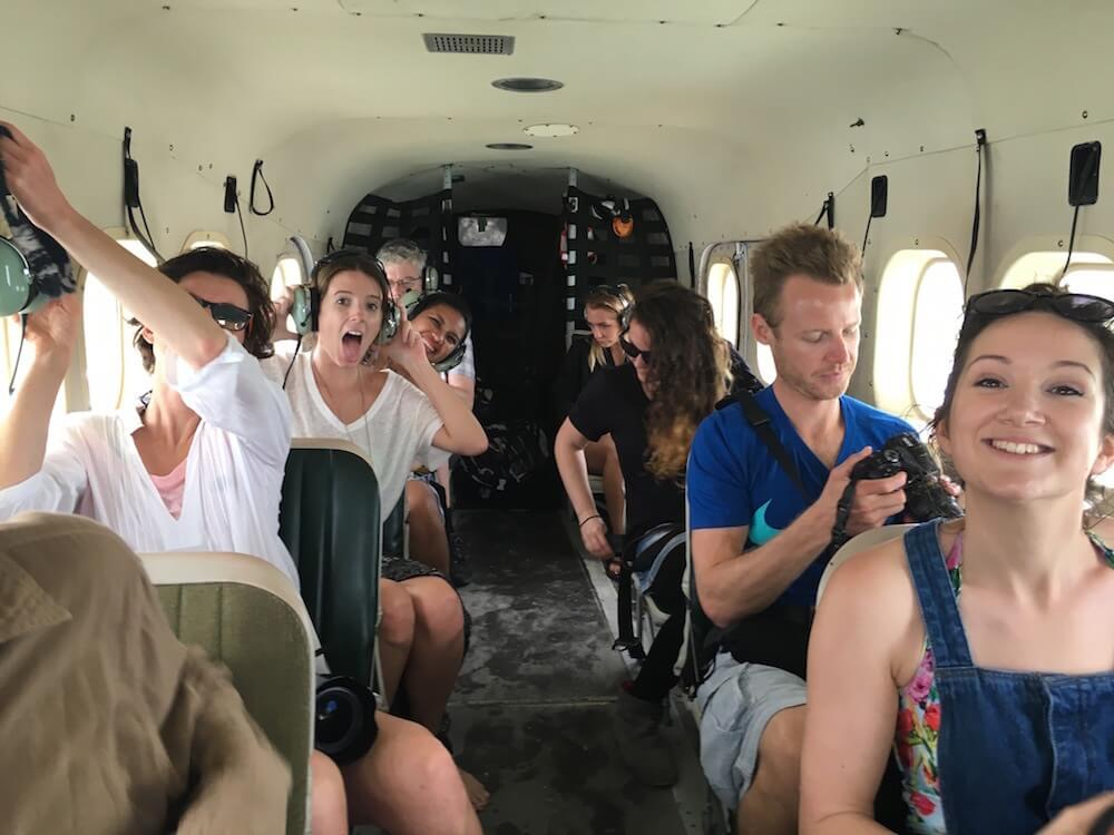 Seaplane ride to the Tortugas