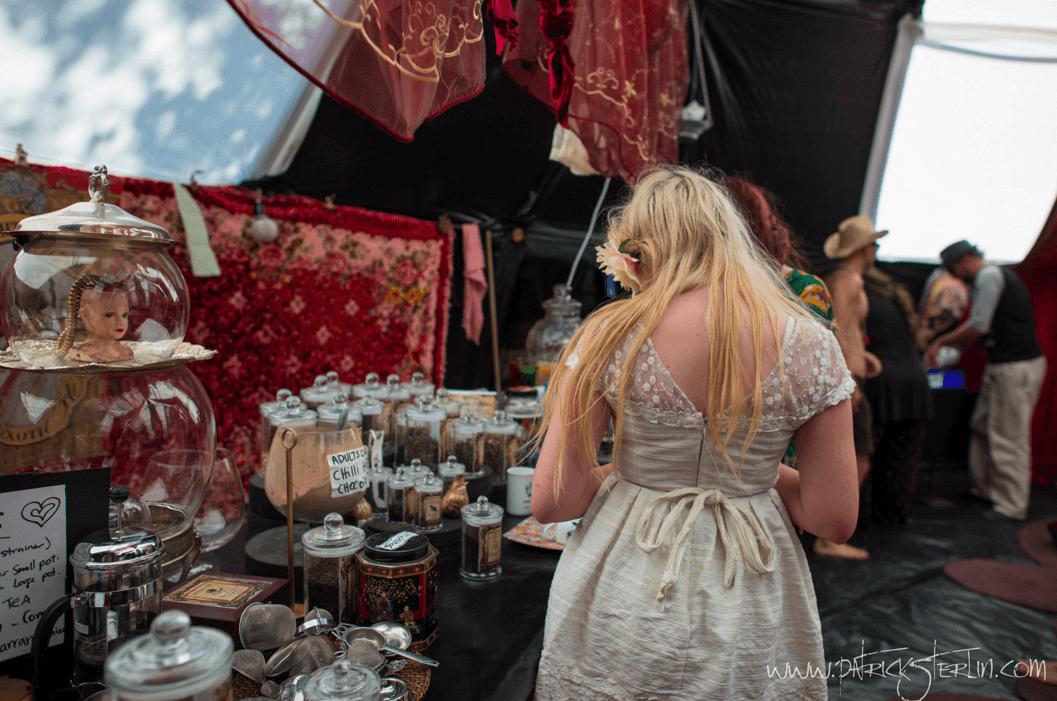 Festivals like Burning Man