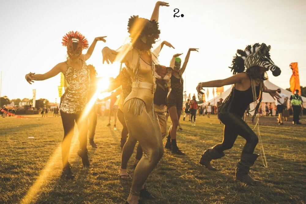 Festivals like Burning Man