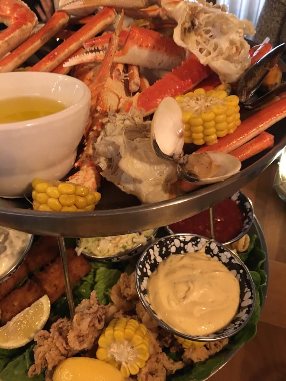 Amazing platter at Stoned Crab