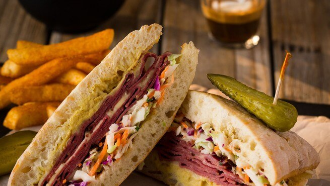 Reubens Sandwich Coffee Club