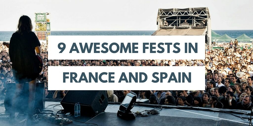 festivals in france and spain