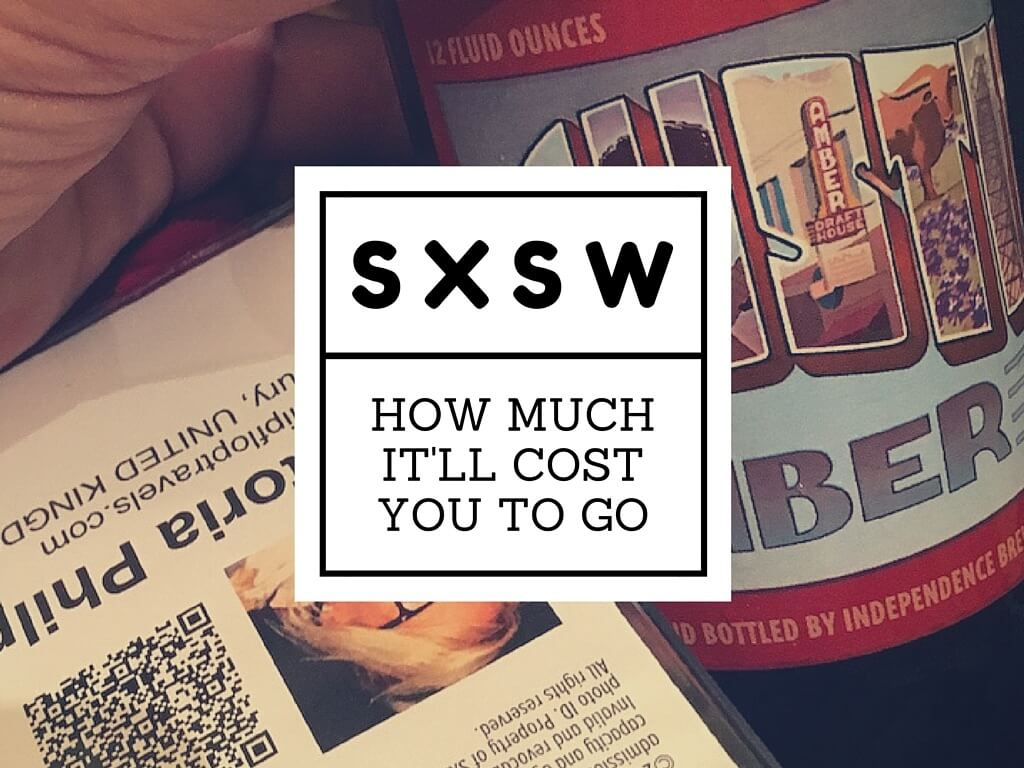 cost of going to sxsw