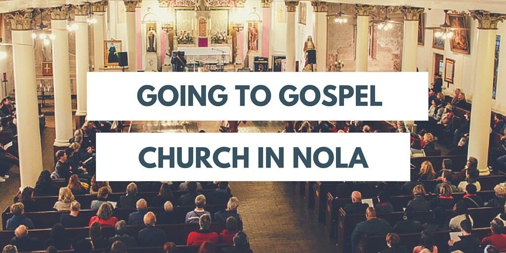 Gospel church in NOLA