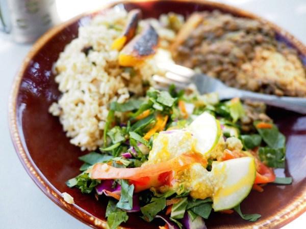 St Kitts veggie food