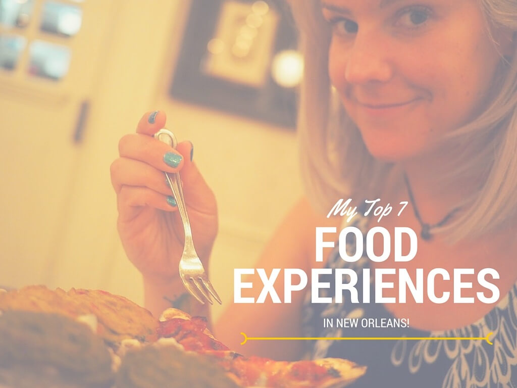New Orleans food experiences