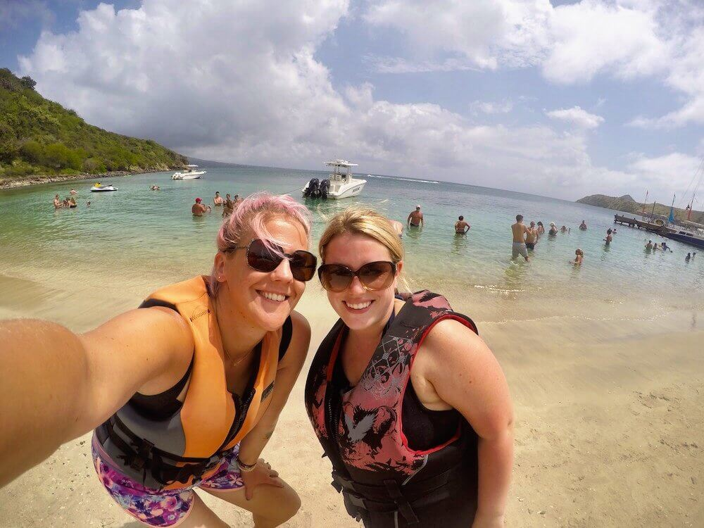 St Kitts Reggae Beach jet skiing