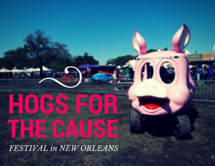Hogs for the Cause Festival in NOLA in Photos