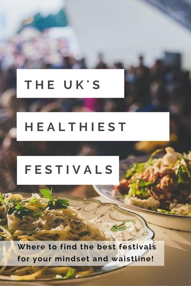 Healthy festivals in the UK