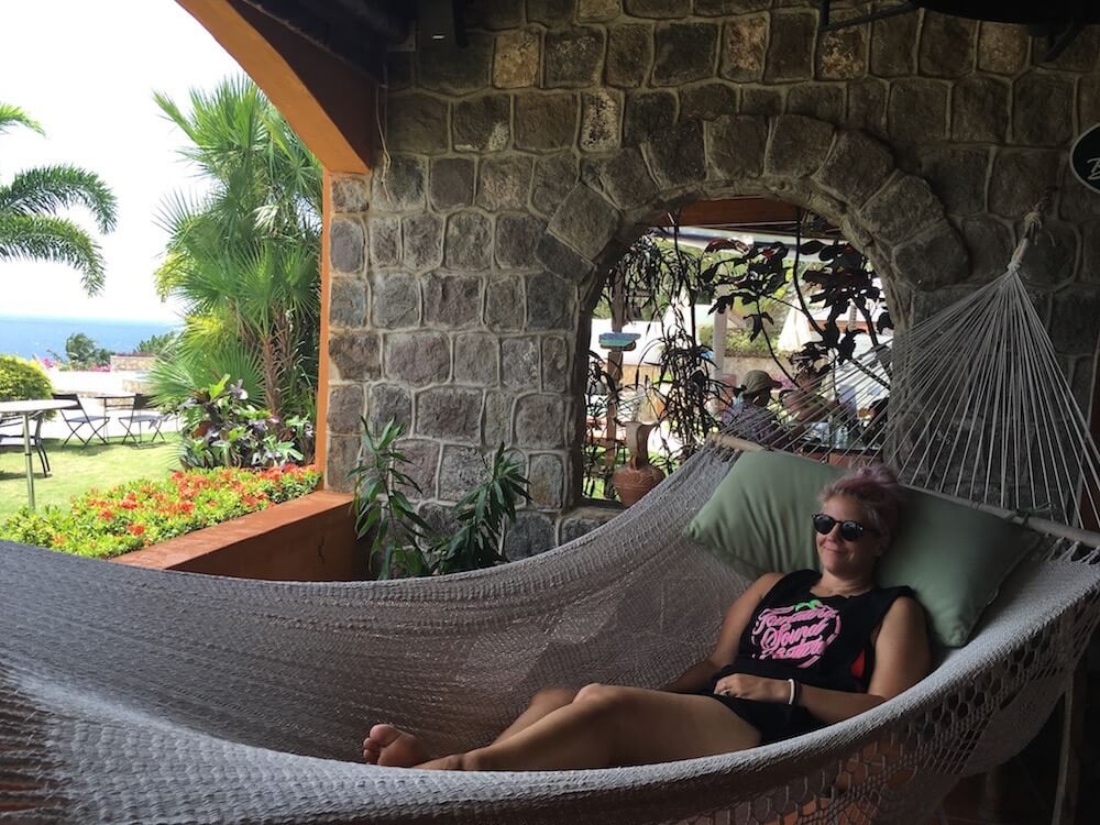 Chilling in St Kitts