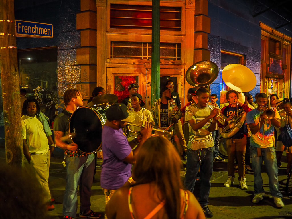 new orleans street party